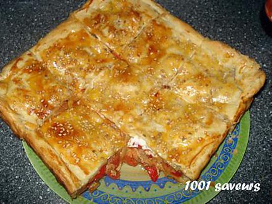 recette Kaldi (feuilleté aux légumes et au thon)