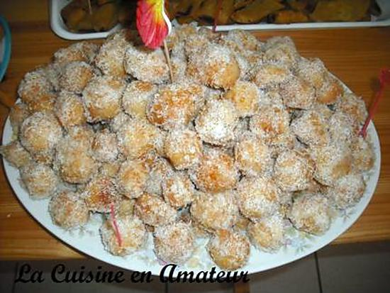 recette Boules à la noix de coco