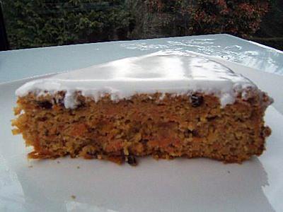 Recette de carrot cake - Recette carrot cake americain ...