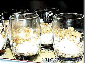 recette Verrines concombre - crabe