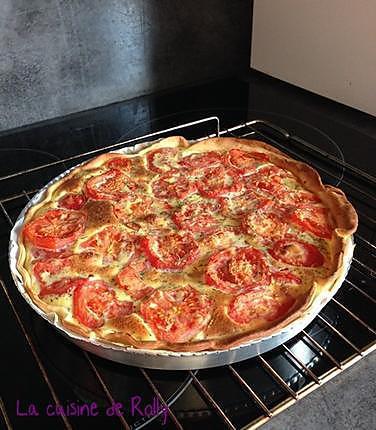 recette Tarte salée aux pommes de terre et tomates
