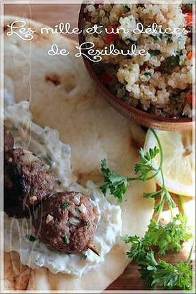 recette ~Keftas de boeuf à la libanaise~