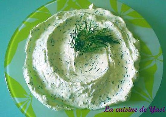 recette Haydari - Mezzé au yaourt