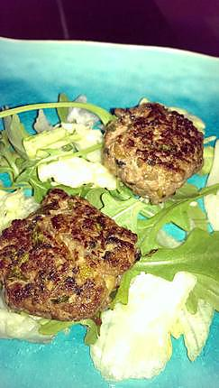 recette Boulette de boeuf au zeste de citron vert