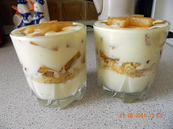 recette de verrine mascarpone ananas caram 233 lis 233 s