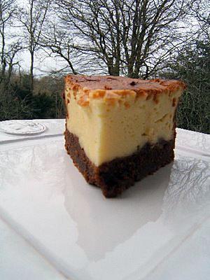 recette Cheese-cake à la liqueur de gingembre et spéculoos