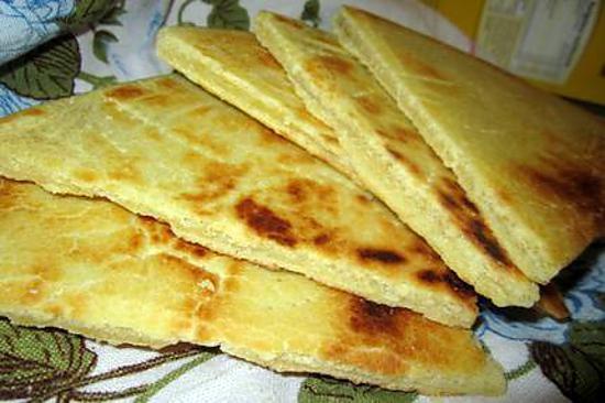 recette de galette kabyle arhlum