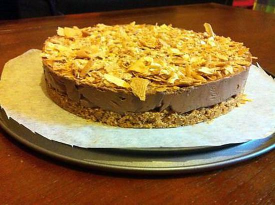 recette Cheesecake choco-Nutella et crêpe dentelle
