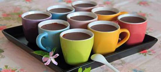 recette Crème au chocolat et verveine