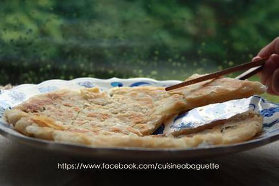 recette Crêpes Chinoise à oignon vert