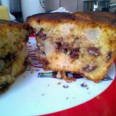 recette Cake poire chocolat