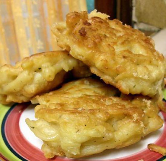 recette Beignet de pâtes