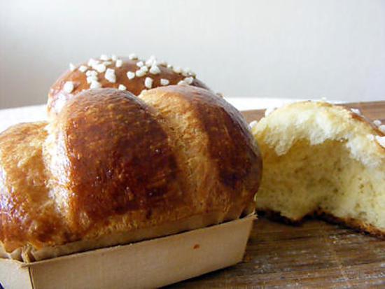 recette brioche de boulanger