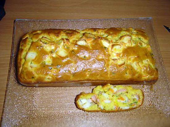 recette Cake au surimi