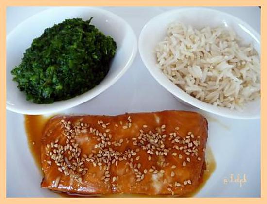 recette Saumon à la japonaise