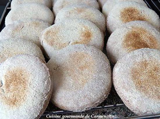 recette Muffin anglais au son de blé et lait fermenté