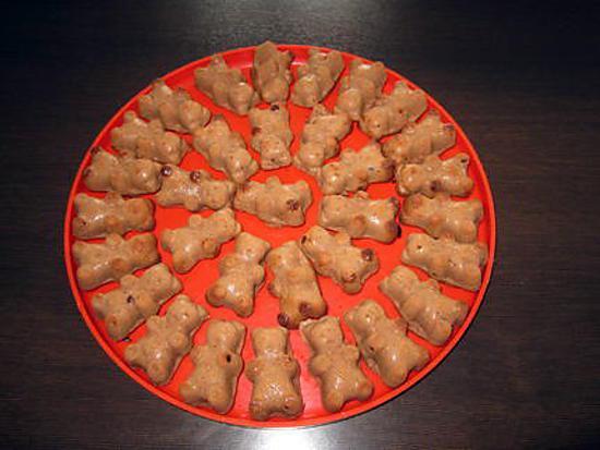 recette Petits oursons en chocolat