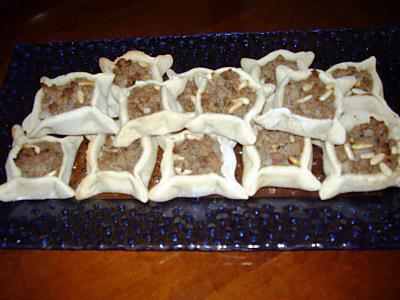 recette safayeh ( petites pizzas à la viande)