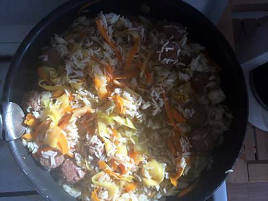 recette Poêlée reste du frigo