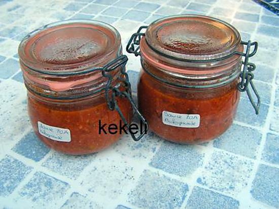recette Sauce bolognaise en bocal