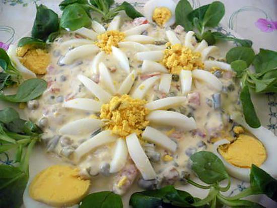 Recette d 39 edelweiss mac doine for Decoration de plat avec des legumes