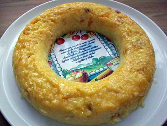 """recette gateau de riz """"saveur des îles"""""""