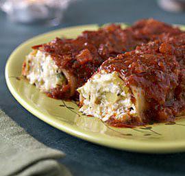 recette Cannellonis au bruccio et aux poireaux