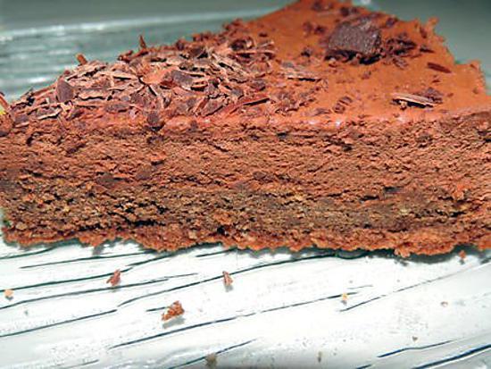 recette Fondant et crème fouettée chocolat