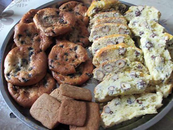 recette dessert  avec croquants de  mirabelle et cookies maison et le petit port de melon ds le finistére