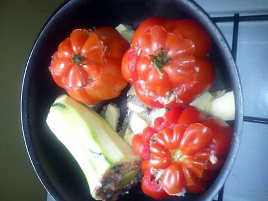 recette tomates et courgettes farcis un délice
