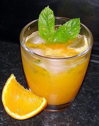 recette Cocktail de carotte à l'orange
