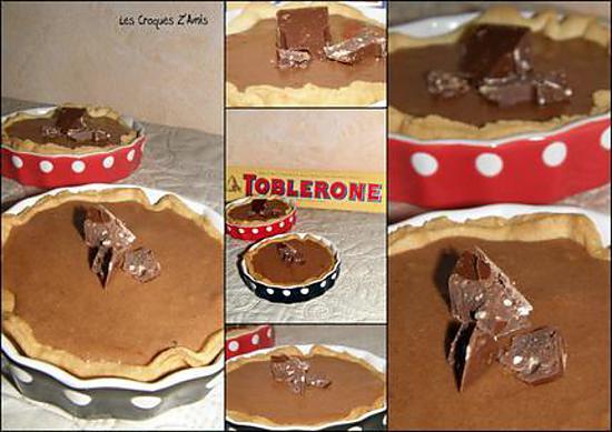recette Tartelettes au Toblerone