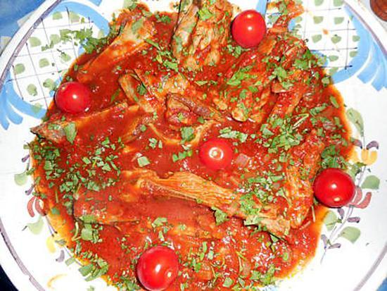 recette Poitrine d agneau au cumin et piment d espelette