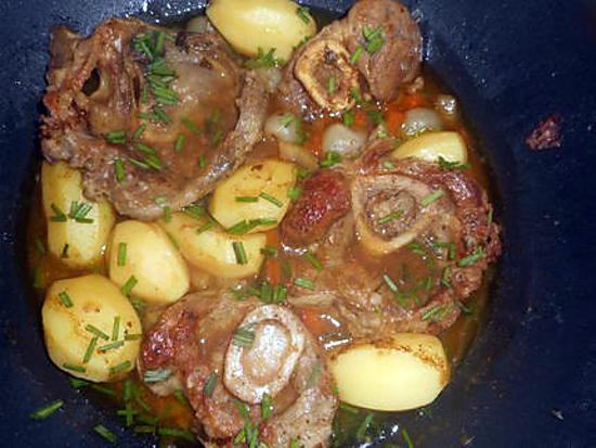 recette Jarret de veau en sauce