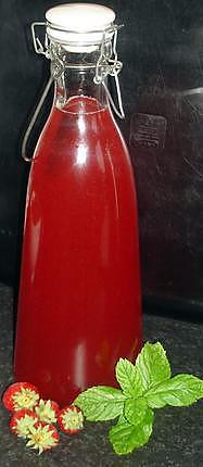 recette Vin de fraises - Fraisade