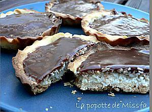 recette Tartelettes Bounty