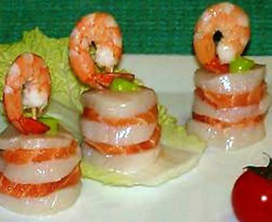 recette Hamburger de la mer