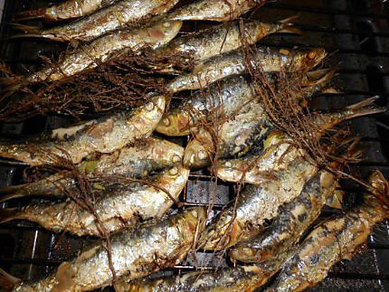 Recette de sardines grill es au four a la chermoula - Recette poisson grille au four ...