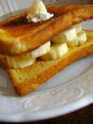 Recette de croque monsieur la banane ricotta - Sachet cuisson croque monsieur grille pain ...