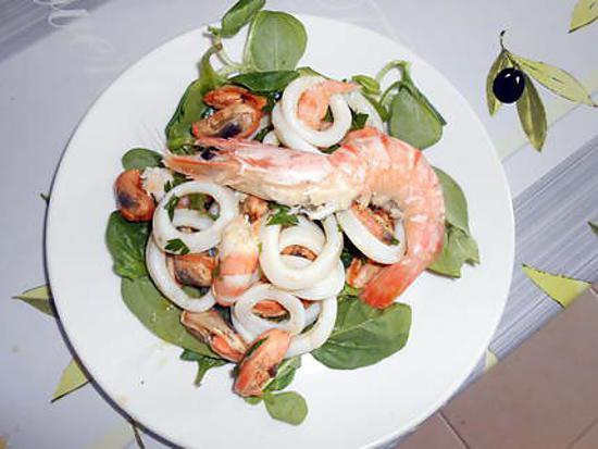 Salade de la mer 430