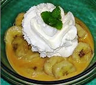 recette Bananes vanillées à la vapeur