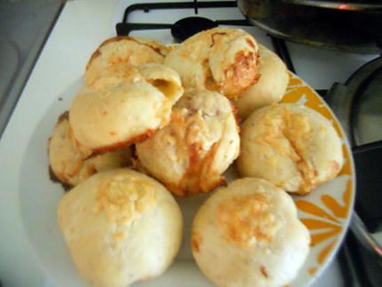 recette Buns jambon fromage