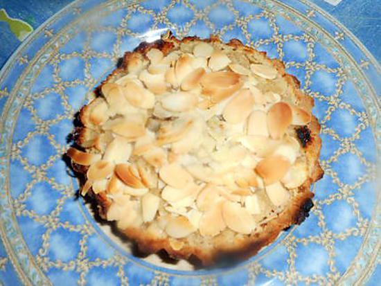 recette Tartelette lait de coco amandes