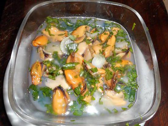recette Moules au vinaigre de cidre