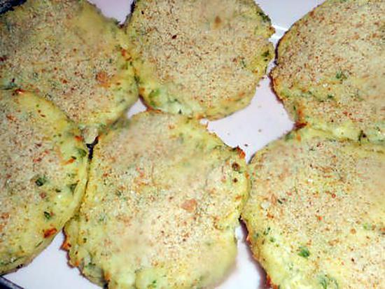 recette Galettes de pommes de terre au fromage