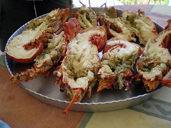 Recette de langoustes grill es l 39 antillaise - Recette cuisine antillaise ...