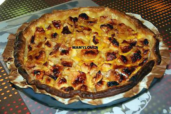 recette de tarte aux pommes normande par mamyloula. Black Bedroom Furniture Sets. Home Design Ideas