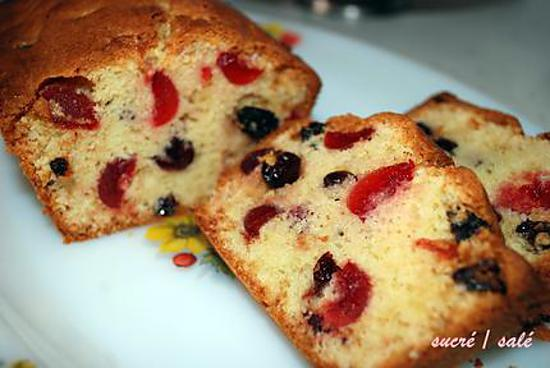 Cake Anglais Au Fruit Confit