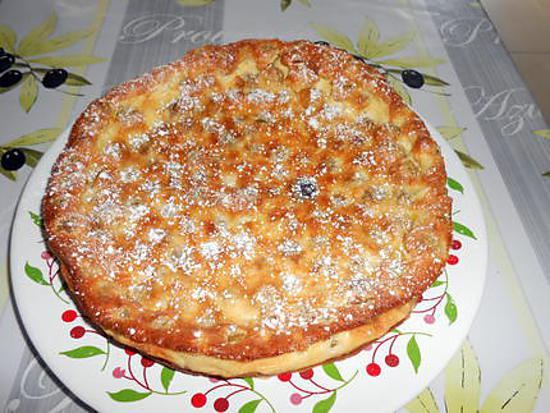 recette de clafoutis au raisin blanc