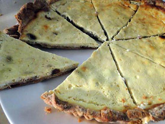 recette Tarte au fromage du Yorkshire